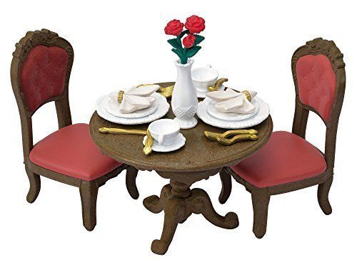 Sylvanian Families Town Series City Of Dining Table Sylvanian