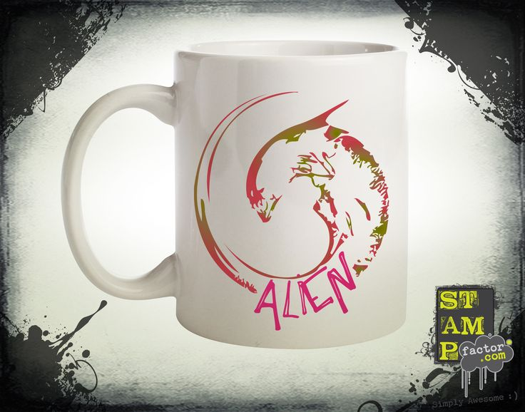 Alien (Version 04) 2014 Collection - © stampfactor.com *MUG PREVIEW*