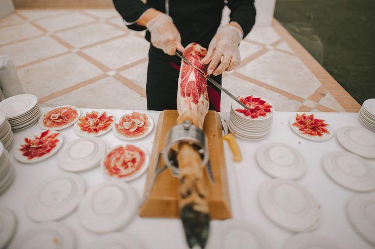 cortador de jamon - boda - wedding - catering - cut - cocktel
