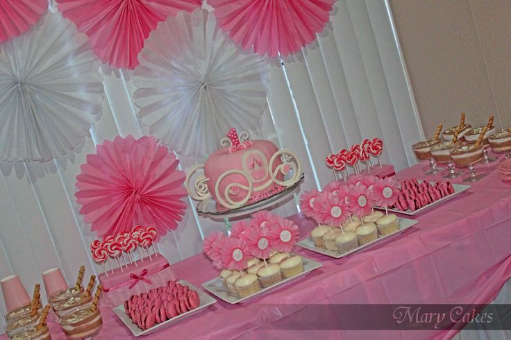 My Baby Girl First Birthday Party First Birthday Ideas Pinterest