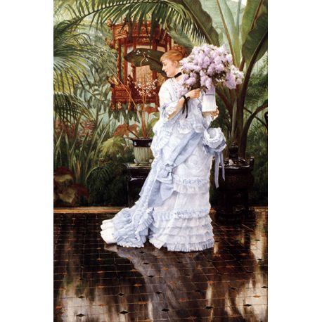 Reprodukcje obrazów James Tissot Lilacs - Fedkolor