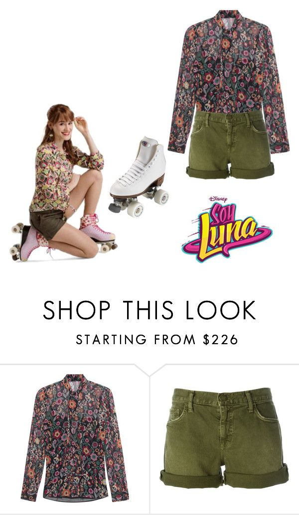 """""""soy luna"""" by maria-look on Polyvore featuring RED Valentino, Current/Elliott and Riedell"""