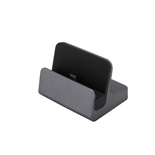 Moto Z2 Play Dock Charger Cradle Type C Fast Charging Synch Stand Desktop Gray #MotoZ2PlayDockCharger