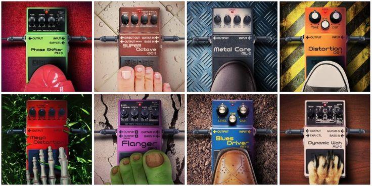BOSS effects pedals
