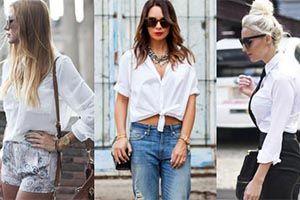 Combine your white shirt with 10 different ways (Photos) – Re-el Fashion www.re-elfashion.com