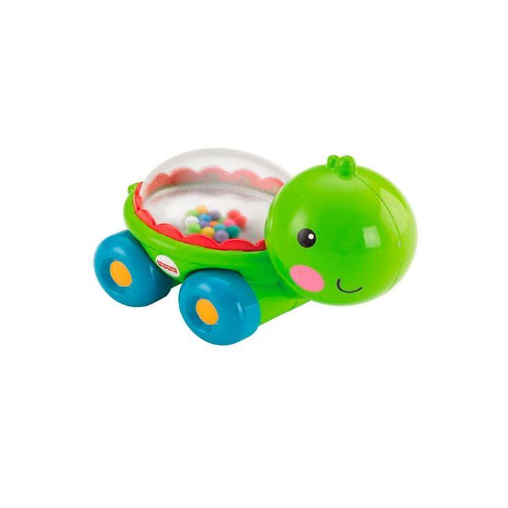 Fisher Tortuga peloticas diverticas $49.900 Coloridas pelotitas saltarinas, reflejos brillantes y divertidos sonidos Estimula al bebé a empujar y gatear Ayuda a fortalecer las habilidades motoras gruesas y a desarrollar los sentidos Introduce el concepto de causa y efecto