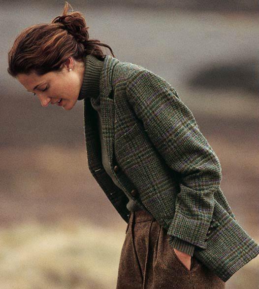 Irish Tweed Jackets Ladies / Castle Island Tweed Plaid Jacket -- Orvis
