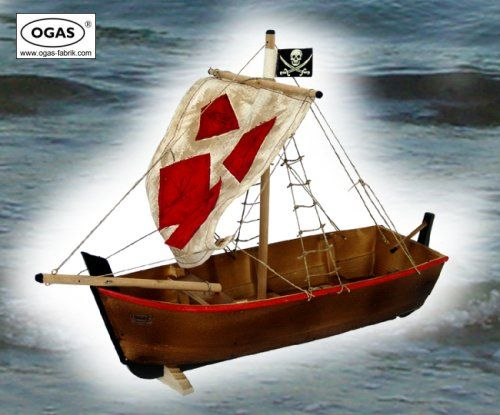 Piratskepp från båttillverkaren Ogas.
