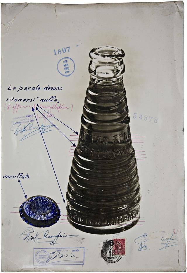 Campari Soda bottle, designed by Fortunato Depero, 1930's @Yulia Krupennikova…