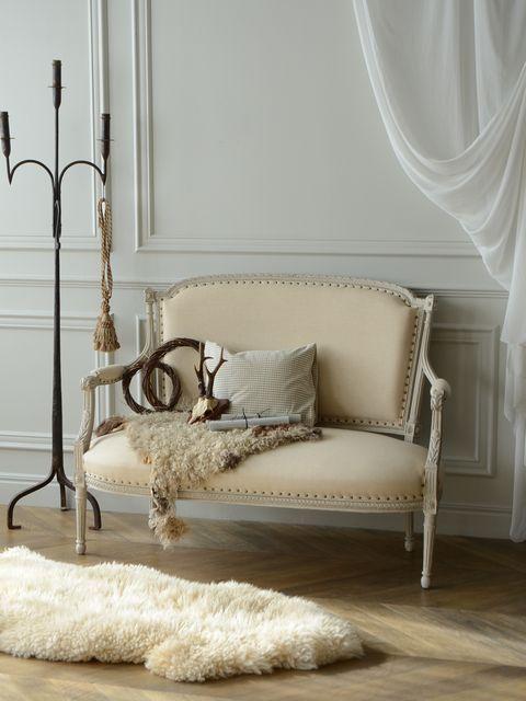 アンティーク ソファ フレンチインテリア シャビーシック 家具