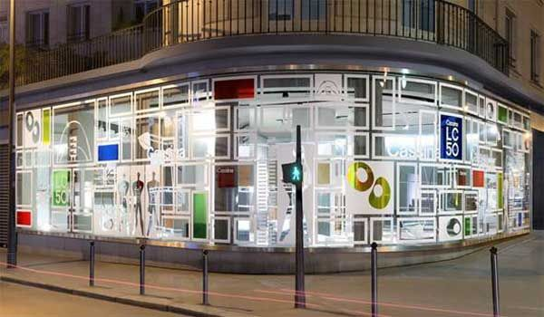 Lo showroom Cassina a Parigi ha partecipato alla Paris Design Week