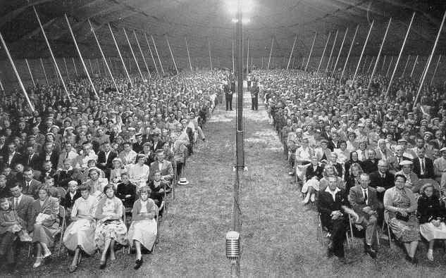It's tent revival season throughout Appalachia – the region that invented the tent revival.