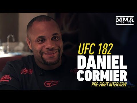 MMAFightingonSBN: Daniel Cormier UFC 182 Interview Prior to First Jon Jones Fight