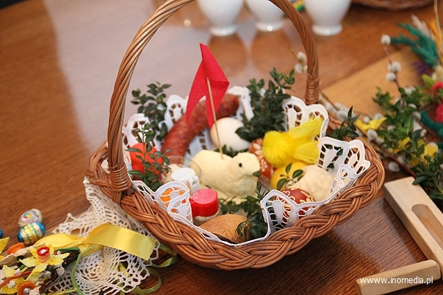 Traditional Polish Easter Basket P O L A N D Pinterest