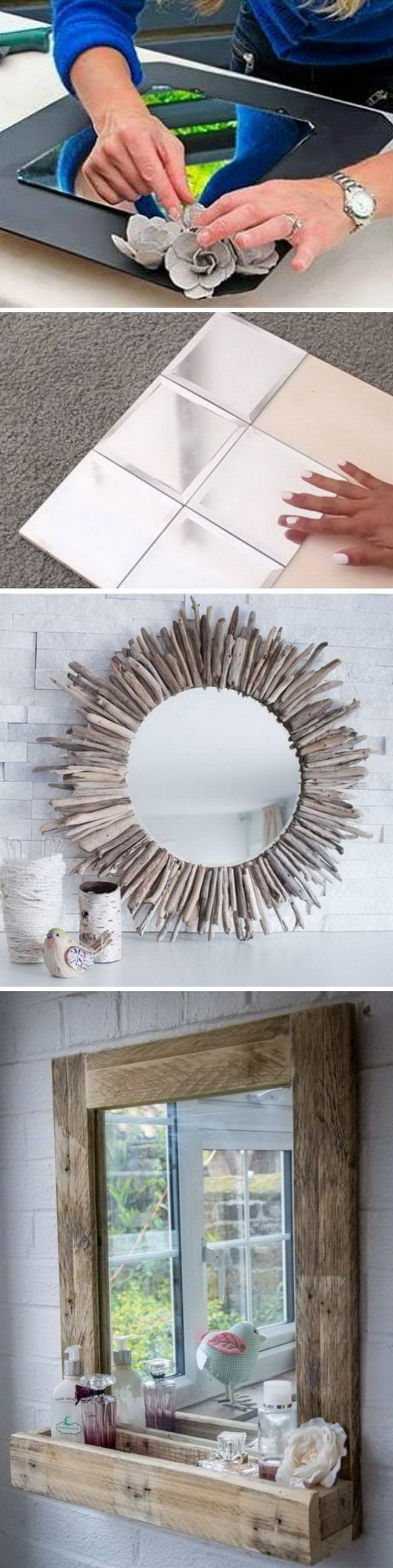 Awesome DIY Mirrors.