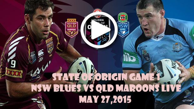 NSW Blues vs QLD Maroons Live
