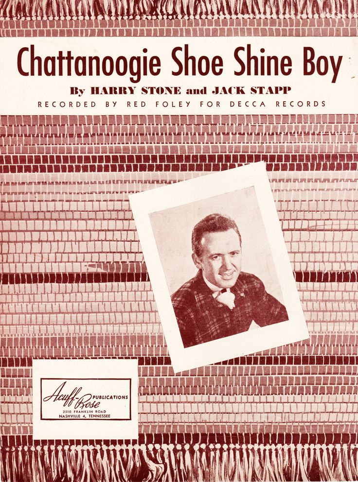 Chattanoga Shoe Shine Boy Red Foley