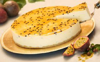 Armazém Delicias Caseiras: CHEESECAKE DE MARACUJÁ LIGHT