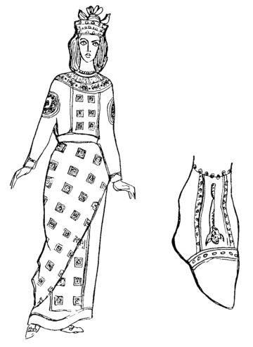 Картинки женских костюмов византии