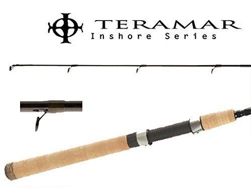"Shimano Teramar Inshore 7' 6"" Spinning Rods TMS76MH  https://fishingrodsreelsandgear.com/product/shimano-teramar-inshore-7-6-spinning-rods-tms76mh/  7'6″ MH Spinning Rod Fast Action"
