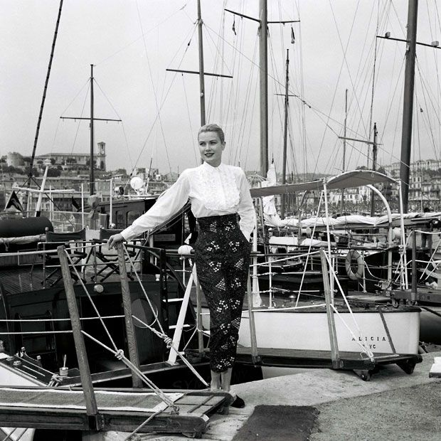 Grace Kelly at Cannes Film Festival, 1955 (with thanks to @PreppyPrincess for the find)
