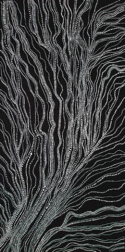 art & australian aboriginal indigenous - Anna Petyarre - Country - inticate dot art AMAZING PIECE!!!!