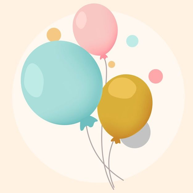 Download Colorful Festive Balloons Design Vectors For Free Balloon Illustration Balloons Balloon Design