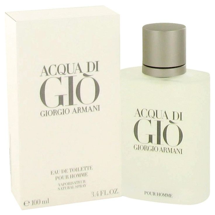 New #Fragrance #Perfume #Scent on #Sale  ACQUA DI GIO by Giorgio Armani 3.3 oz EDT Spray - One of the most popular and iconic men's fragrances of the 20th and 21st century was composed in 1996 by Fifi Award-winning master perfumer Alberto Morillas and ushered in a new age of fresh, aquatic-citrus scents for men.  This classic men's cologne opens with brisk, cool calabrian bergamot, green tangerine and neroli, and gradually grows deeper and richer with notes of rose, rosemary, jasmine petal…