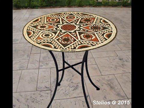 Ψηφιδωτά Τραπέζια  -  Mosaic tables