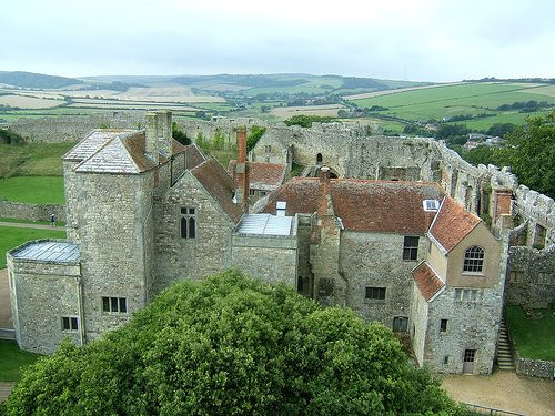 Carisbrooke Castle is a historic motte-and-bailey castle located in the village of Carisbrooke, near Newport, Isle of Wight, England. Charles I was imprisoned at the castle in the months prior to his trial.