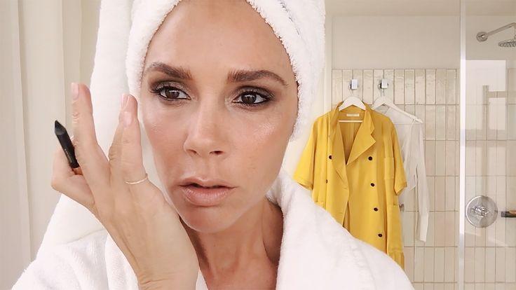 Blend It Like Beckham! Watch the London Superstar Do Her Five-Minute Face
