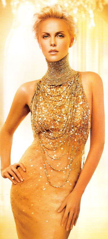 Charlize Theron's dress from the J'adore Dior commercial