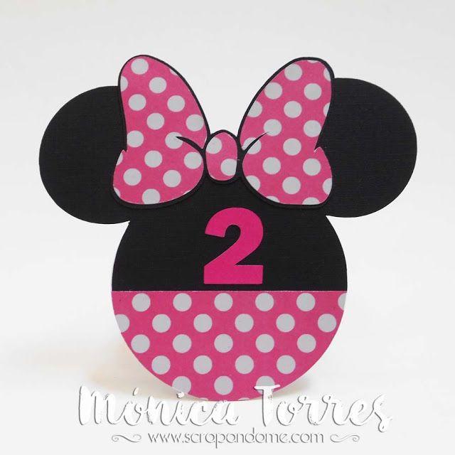 Scrapandome Con Los Recuerdos: Valentina y Minnie Mouse