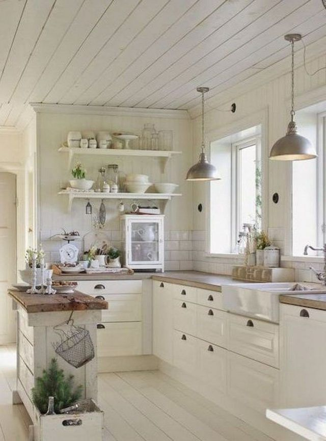 remarkable farmhouse kitchen decor | 90+ Remarkable Farmhouse Kitchen Ideas on A Budget | Small ...