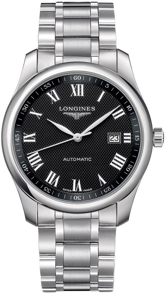 @longineswatches Master Collection Mens #add-content #bezel-fixed #bracelet-strap-steel #brand-longines #case-material-steel #case-width-40mm #date-yes #delivery-timescale-1-2-weeks #dial-colour-black #gender-mens #l27934516 #luxury #movement-automatic #new-product-yes #official-stockist-for-longines-watches #packaging-longines-watch-packaging #style-dress #subcat-master-collection #supplier-model-no-l2-793-4-51-6 #warranty-longines-official-2-year-guarantee #water-resistant-30m