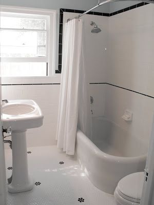 Good Home Construction's Renovation Blog: From an Outdated Pink Bathroom to a Classic 1920's Bathroom