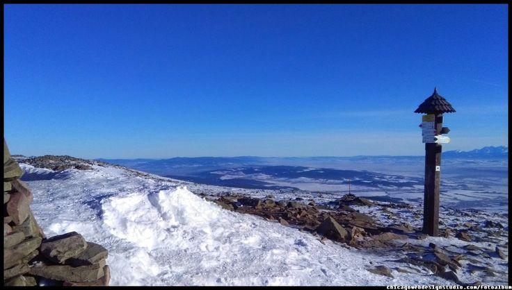 Babia Góra (Diablak) #Babia Góra #Diablak #Beskidy #Babiogórski-Park-Narodowy #BPN #góry #Poland #Polska #mountains panorama-na-Tatry-z-Babiej Góry #Zawoja #szlaki_górskie #turystyka