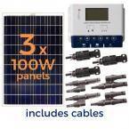 Grape Solar 300-Watt-Solarmodul-Kit   – Solar and Green Energy