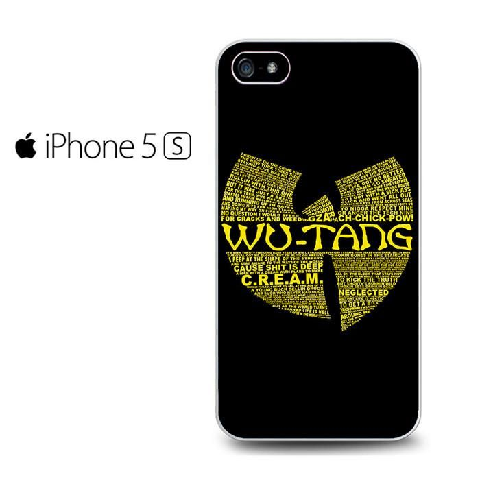 Wu Tang Clan Logo Iphone 5 Iphone 5S Iphone SE Case