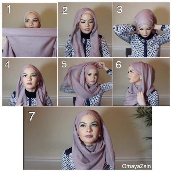 I stumbled upon this beauty on Instagram, she has a beautiful style and thought why not share withyou one of her hijab signature looks, This one is so classy and you can pair it with small classy earrings, you can… Hijab Tutorials