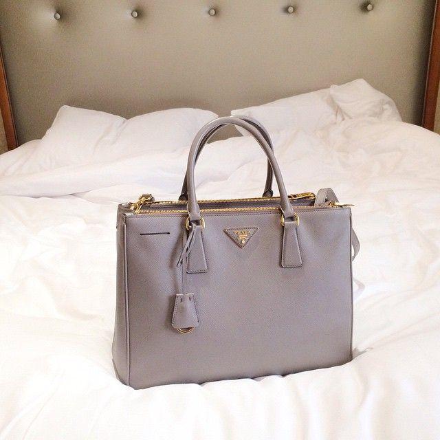 Prada Milan bag saffiano argilla luxe tote by Yasmin_dxb Instagram
