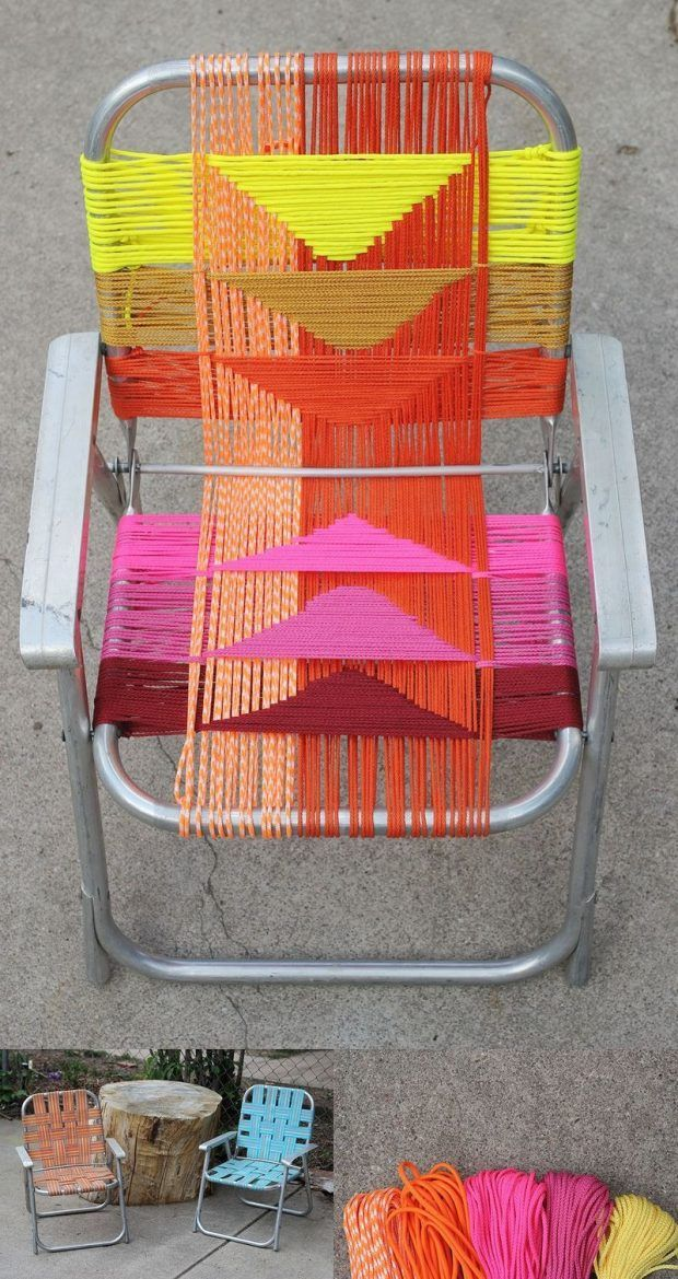 Renueva tu silla de aluminio Vía: abeautifulmess
