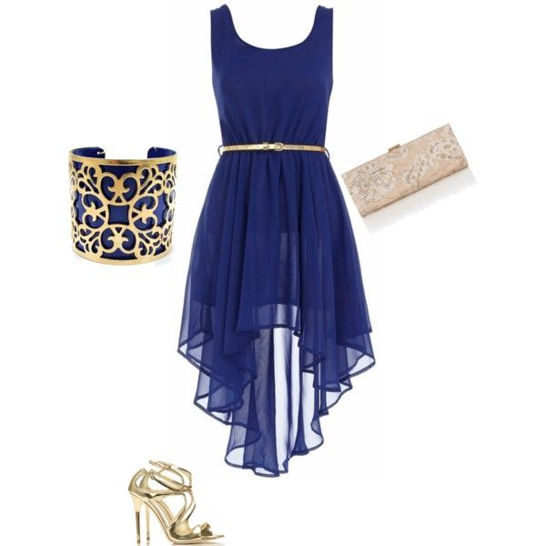 Perfect for wedding guests dress by ash241 on polyvore for Blue dress for a wedding guest