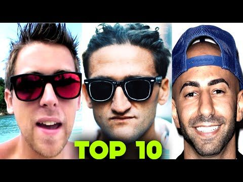 Top 10 RICHEST YouTube Vloggers(Roman Atwood, Tanner Fox, Casey Neistat, Lance Stewart, DOSEofFOUSEY - YouTube