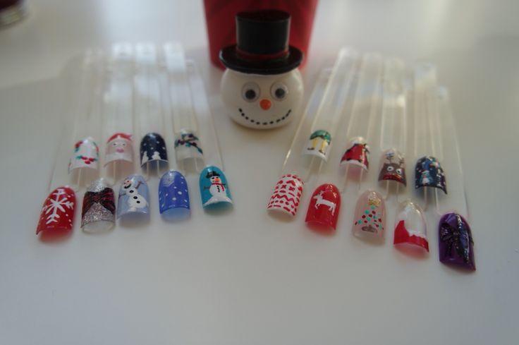 #christmas #christmasnails #gelpolish
