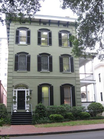 Savannah-I remember seeing this several years ago, the green with black is stunning!