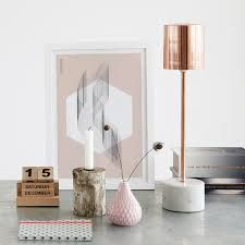 Rose gold, marble and blush pink!
