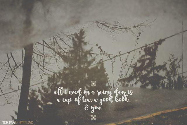 from panka with love: Moodboard #1: rainy day