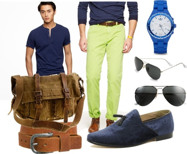 Blue man's group. Style tip for men. How to tone down your colored denim.: Man S Group, Men Style, Style Pinboard, Blue Man S, Colored Denim, Theboy Toy, Man Style