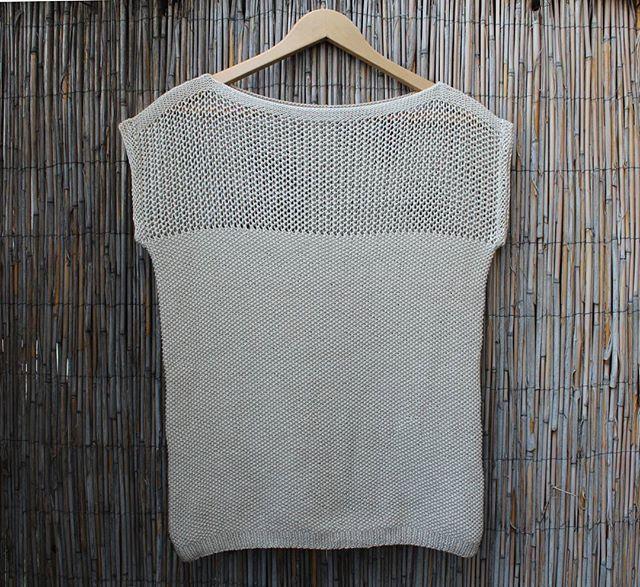 #Juliettee - #Sommertop #Lookalike #2 // #Kurzpullover aus 100% #Baumwolle #gestrickt in Runden und diesmal auch mit Armabschluss // #Perlmuster #Lochmuster // #Handmade #Cotton #Summertee // #Handknit #Crafts #knitstagram #instaknit #knittersofig #igknit #instastrick #strickfashion #strikkedilla #knitaddict #loveknitting #knitpro #egostrikk #strickliebe #stricken #knitted
